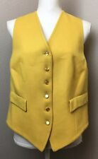 Swaine Adeney Brigg Fitted Wool Show Vest Hunt Waist US 6 UK 10 England Vintage