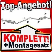 Auspuff VW T4 TRANSPORTER IV 1.9 2.0 2.4 D 2.5 LWB 1990-1995 Auspuffanlage 862