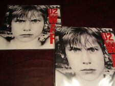 U2 WAR COLLECTORS 180 GRAM & BOOK RARE ORIGINAL 2008 ISSUE W/ STICKER + BONUS LP