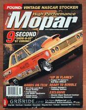 HIGH PERFORMANCE MOPAR 2001 JULY - MARTY ROBBINS