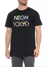 ASICS NT Neon Tokyo Olympics 2020 Logo T-shirt Men's Size LARGE Black NWT Japan