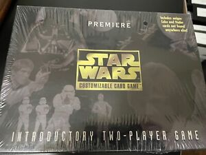 MIB Sealed Star Wars Premiere Customizable Card 2-Player Game #40360 1995