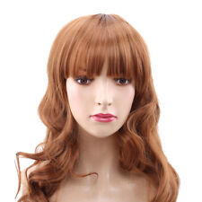 Ladies Fashion Hairstyle Wig Temperature Partial Long Curly Thick Hair Wig CB