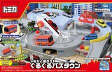 NEW Takara Tomy Tomica World Let's Run with Tomica! Round Bus Town from Japan