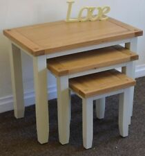 Pine Less than 60cm No Assembly Required 3 Nested Tables