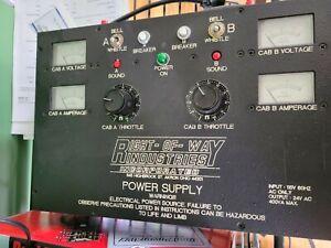 Right Of Way Industries #2020 400Watt Power Supply O- & Standard 2-Train Control