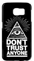For Samsung Galaxy Note 5/4/3/2 Illuminati Mason Eye Don't Trust Back Cover Case