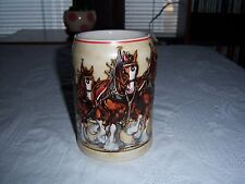 World Famous Budweiser Clydesdales On Parade 1991 Stein