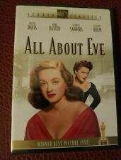 All About Eve Dvd Movie Bette Davis , Anne Baxter George Sanders 1950 Betty