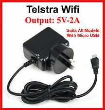 Telstra Wi-Fi MF91 MF910 Plus MF65 MF60 Wireless Modem AC Wall Charger ZTE