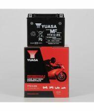 BATTERIA YUASA YTX12-BS (SIGILLATA CON ACIDO A CORREDO) 12V/10AH