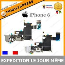 IPHONE 6 - NAPPE DOCK CONNECTEUR DE CHARGE & JACK & MICRO & ANTENNE - GRIS/BLANC