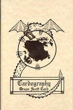 Cardography by Orson Scott Card - Signed Limited Edition - New!