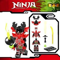 Ninjago General Kozu ZX Ninja Master of Spinjitzu Toy Custom Lego Mini Figure