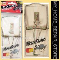 """$7 !  FREE S&H !  1 LARGE  3-1/4 X 7""""  RAT GUARD  SNAP SPRING REUSABLE RAT TRAP"""
