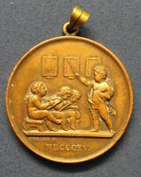 Medaille Anhänger Joseph Francois Domard 1867 Frankreich Dresden Selten sf