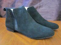 Steve Madden Reuben Black Leather Zip Up Bootie Boot - NEW Women's 9.5