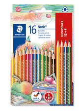 STAEDTLER Crayons couleur Noris Club triangulaire 12 + 4 er-box 127 NC12P1