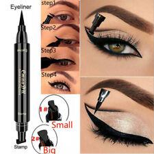 Liquid Eyeliner Pencil Waterproof Black Double-Headed Stamp Eye liner Eye