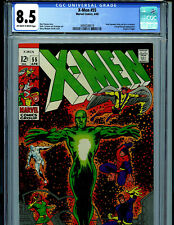 Uncanny X-Men #55 CGC 8.5 VF+ 1969  Marvel Comics Amricons  B19