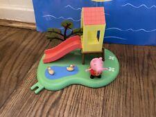 Peppa Pig Funpark Rutsche mit Ententeich Spielplatz + Figur-viele Peppa Liste