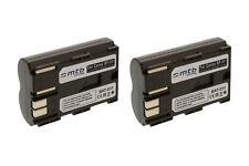 2x Batería BP-511 para Canon Powershot G1, G2, G3, G5, G6, Pro1, Pro 90 IS