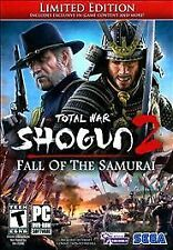 New Sealed Shogun 2: Fall of the Samurai, Limited Edition - PC