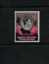 KUT: Kenya Uganda & Tanganyika SG150, P11.5x13,1938 printing, KGVI, Mint VLH