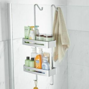 Hanging Bath Shelves Bathroom Shelf Organizer Nail Free Shampoo Holder Storage