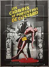 Affiche CADAVRES NE PORTENT PAS DE COSTARD Dead Men don't were plaid 120x160cm *