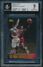 1996-97 Topps NBA At 50 #139 Michael Jordan Foil BGS 9 Mint