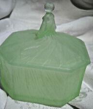 Satin Glass Ramses Roxana Powder Box