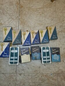Vtg Large Lot of  Misc Key BLANKS Ilco/Yale/Star