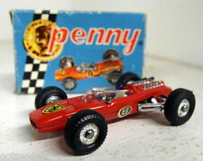 Politoys Penny 1/66 Scale Vintage 0/9 Ferrari 36V F1 Red diecast model car