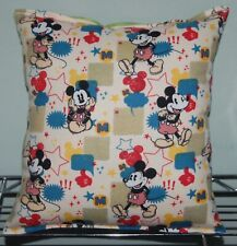Mickey Mouse Pillow Retro Mickey Mouse Pillow HANDMADE In USA