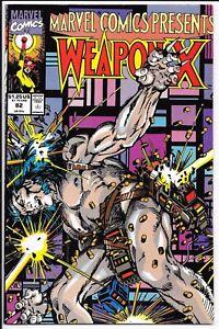 Marvel Comics - Weapon X - Vol 1 #82 1991