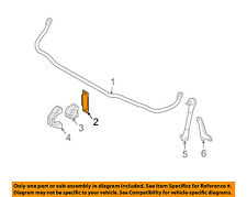 BMW OEM Stabilizer Sway Bar-Front-Stabilizer Sway Bar Mount Bracket 31356765913