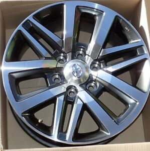 "5 X Genuine Hilux Sr5 Wheels , Hiace Prado Fj Cruiser Fortuna(18"")."
