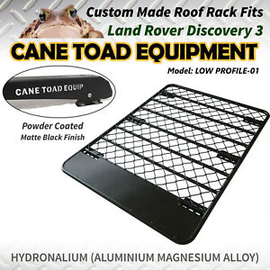 Roof Rack Fits Land Rover Discovery 3&4 Aluminium Alloy Flat LOW PROFILE Hydrona