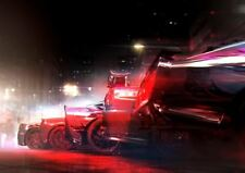 grid 2 xbox one ps4 ps3 gaming pc a3 kunstdruck poster yf5237