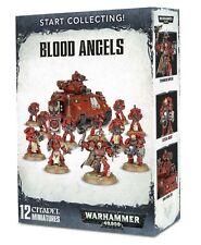 40k    Blood Angels Start Collecting  ( 12-Mini )  NIB / Brand New / Free Ship