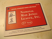 NATIONAL MAH JONGG LEAGUE INC. STANDARD HANDS AND RULES 2014 77th year