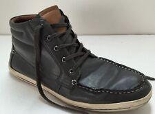 Aldo Grey Lace Up Hightop Sneakers Men's 11