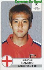 066 JUNICHI INAMOTO JAPAN ARSENAL.FC STICKER PANINI CHAMPIONS LEAGUE 2001-2002