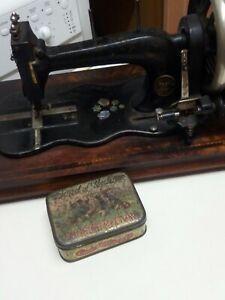 Konig's 19th Century Early Sewing Machine Fiddlebase German