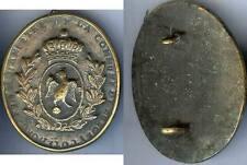 Plaque de métier - BUNCEY Côte d'Or garde champêtre monarchie juillet d=80x67mm