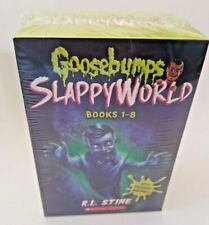 Goosebumps Slappyworld 1-8 Books Collection Set By R L Stine FAST FREE SHIPPING