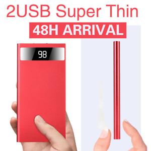 2021 Super Thin 500000mAh Power Bank Universal USB Fast Charging Battery Charger