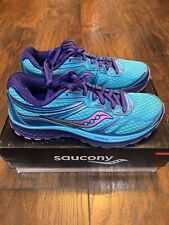 Saucony Guide 9 Women's Running Shoes/Trainers Size 7 PRE-OWNED w/ Box S10295-5