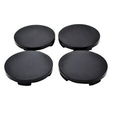 Set 4 pcs Black Wheel Center Hub Caps 64mm/62mm For Fiat Seat Skoda Dacia K09b
